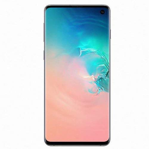 "Samsung Galaxy S10 128GB SM-G973F/DS (FACTORY UNLOCKED) 6.1"" 8GB RAM Dual Sim [並行輸入品] (Prism White)"