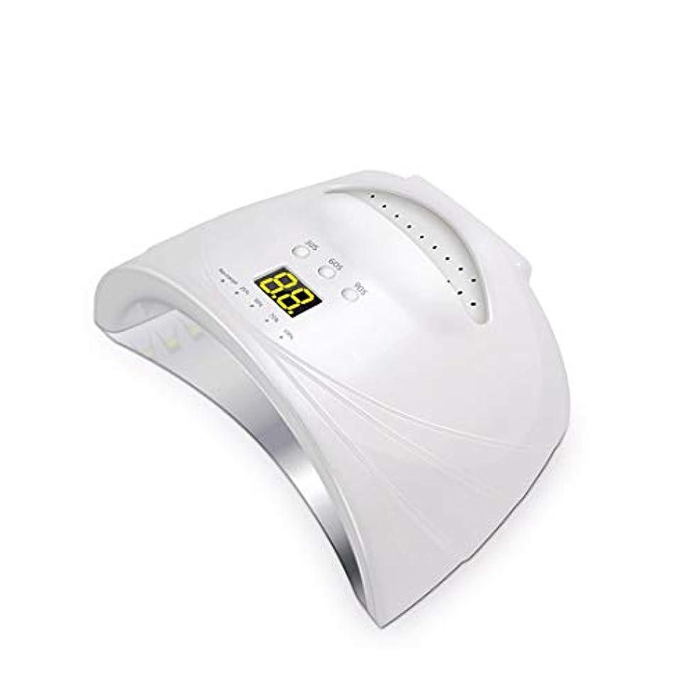 シェラックおよびゲルの釘のための48W専門の紫外線およびLEDの釘ランプそして釘のドライヤーの表示,White
