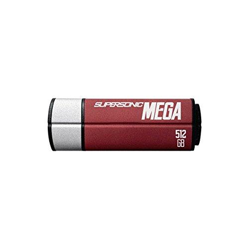 Patriot Memory USBメモリ 512GB MEGAシリーズ USB3.1/3.0 最大読込380MB/s, 最大書込70MB/s パトリオットメモリ PEF512GSMGUSB