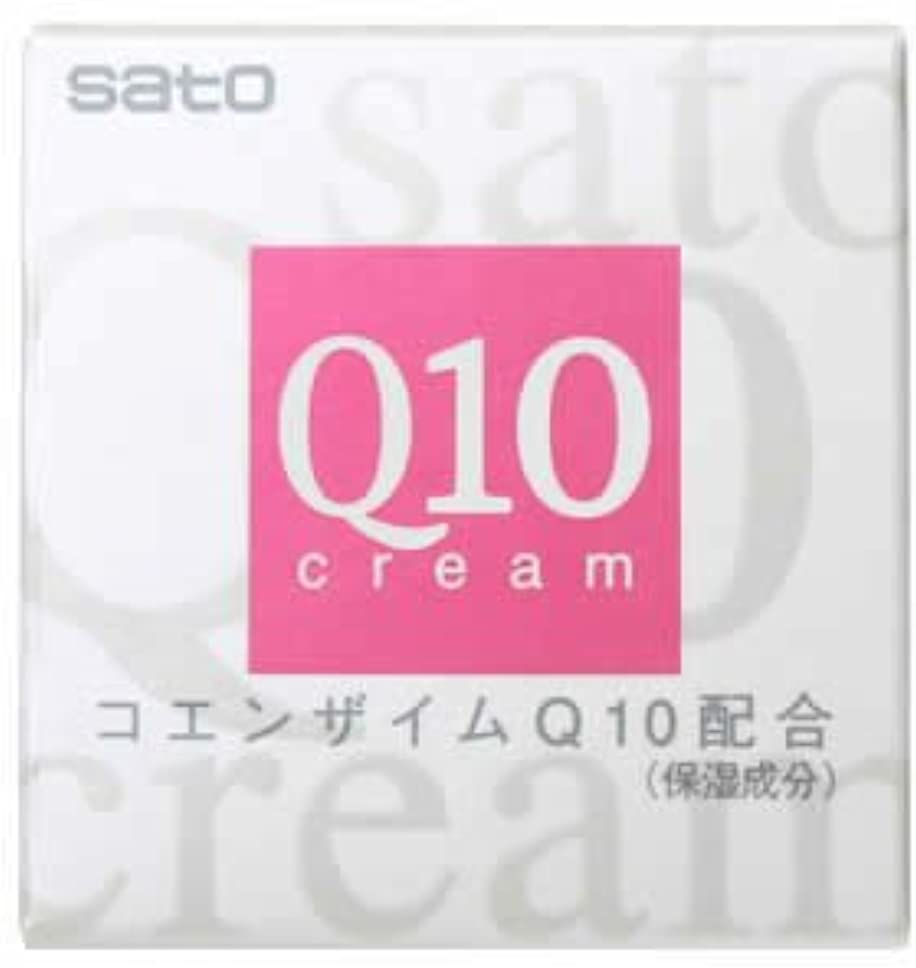 インセンティブ留め金耐えられるサトウQ10クリーム