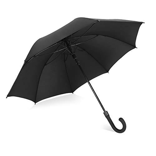 長傘 紳士傘 ゴルフ用傘 軽量 高強度 撥水 丈夫 大型 自...