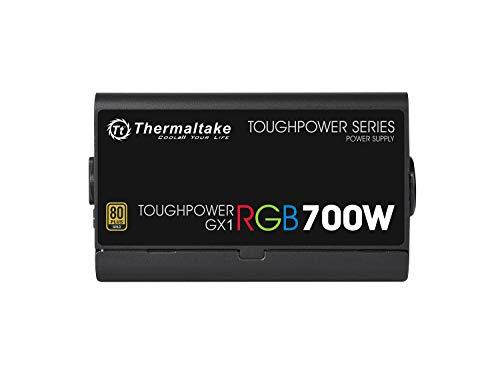 Thermaltake TOUGHPOWER GX1 RGB 700W -GOLD- PC電源ユニット 80PLUS GOLD PS816 PS-TPD-0700NHFAGJ-1 B0091CUHFQ 1枚目