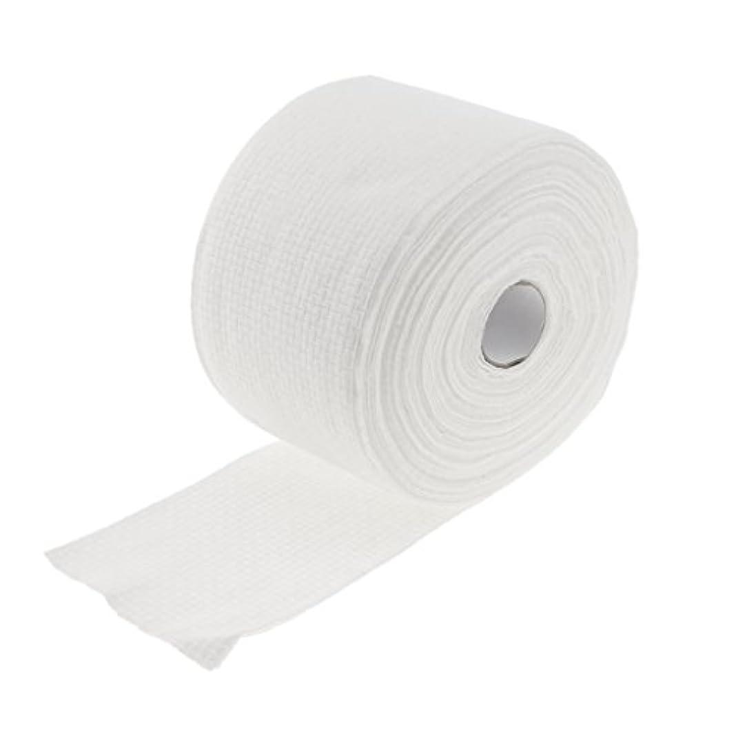 大西洋路面電車電気陽性ロール式 使い捨て 洗顔タオル 使い捨てタオル 30M コットン 繊維 メイクリムーバー 2タイプ選べる - #1