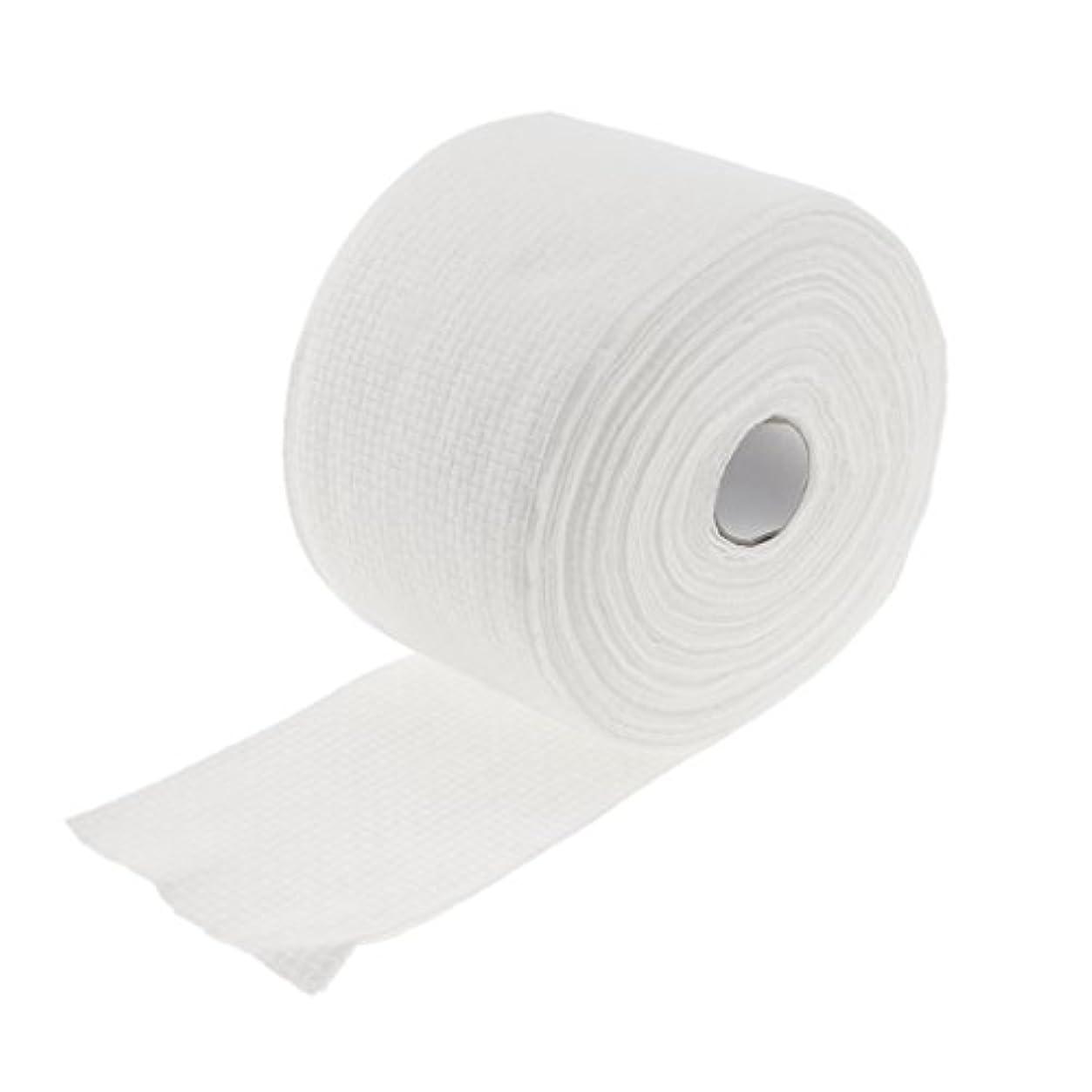 物理コンテスト似ているロール式 使い捨て 洗顔タオル 使い捨てタオル 30M コットン 繊維 メイクリムーバー 2タイプ選べる - #1