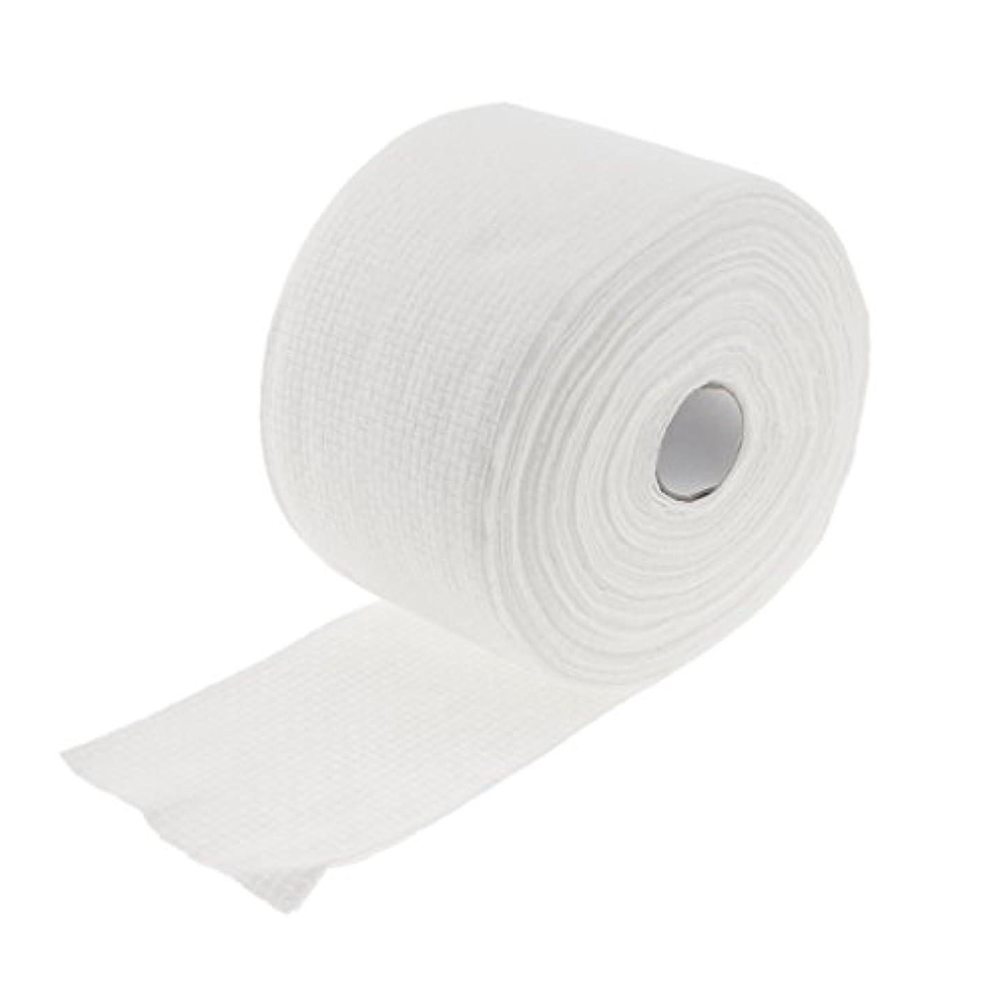 分割ナインへインフルエンザKesoto ロール式 使い捨て 洗顔タオル 使い捨てタオル 30M コットン 繊維 メイクリムーバー 2タイプ選べる - #1