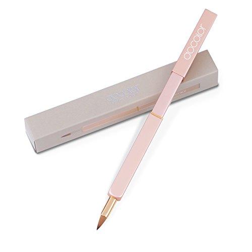 Docolor ドゥカラー 化粧筆 携帯用 リップブラシ スライド式 メリハリの立体的な唇に