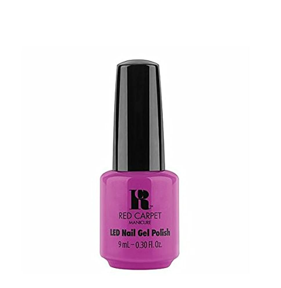ことわざ尾アンカーRed Carpet Manicure LED Gel Polish - Brightest Of Them All - 9 ml/0.30 oz