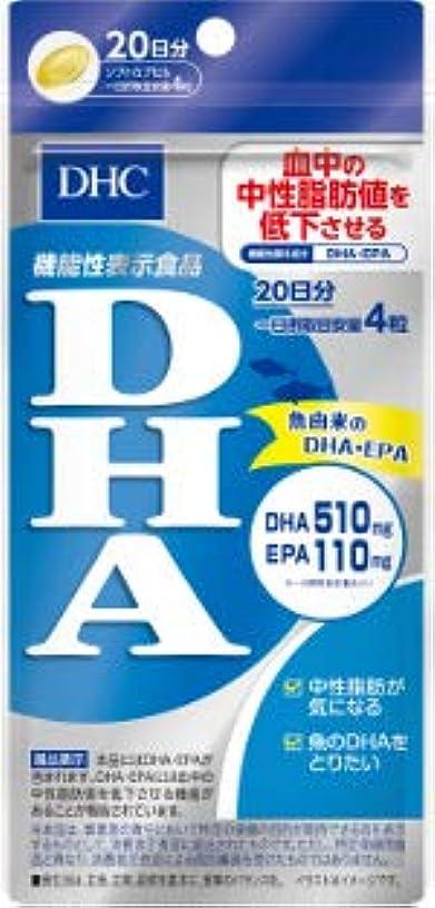 外科医唯物論影響【まとめ買い】20日DHA80粒 ×6個