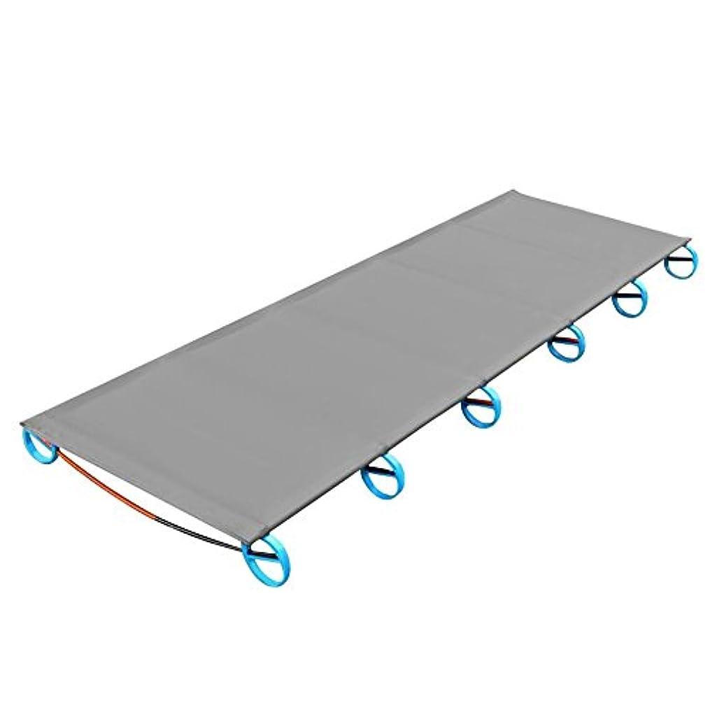 電話爆発物決めますvolflashy ベッド キャンプ 折りたたみ式 ポータブル 超軽量 アルミ 合金 アウトドア マット ベッド 頑丈 快適