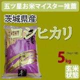 茨城県産「コシヒカリ こしひかり」玄米5kg