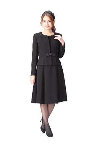(マーガレット)marguerite スーツ レディース ブラックフォーマル 喪服 アンサンブル 礼服 m433