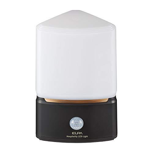 ELPA エルパ もてなしライト 人感センサー 電球色/白色切替可能 うれしいコンパクトサイズ 場所を選ばない乾電池式 HLH-2202