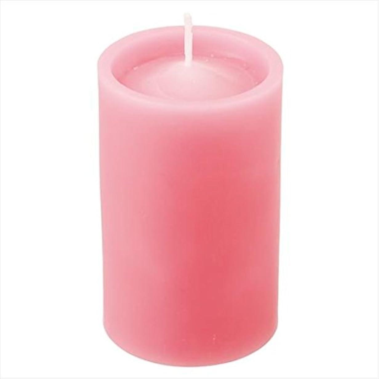kameyama candle(カメヤマキャンドル) ロイヤルラウンド60 「 ダークピンク 」 キャンドル 60x60x100mm (52750000DP)