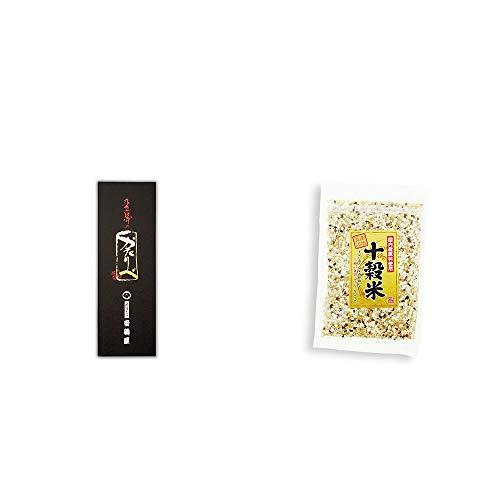 [2点セット] 岐阜銘菓 音羽屋 飛騨のかたりべ[6個入] ・国産原料使用 十穀米(300g)