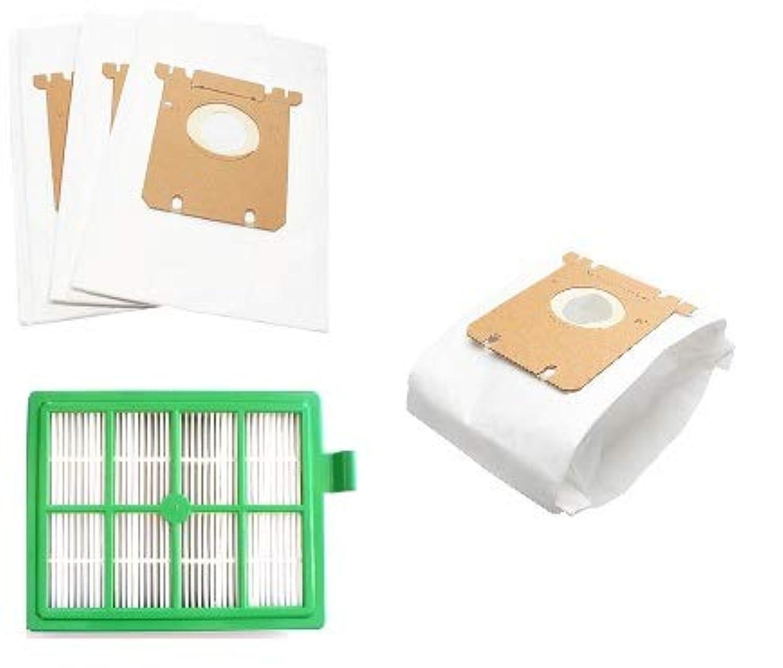 DVC Products エレクトロラックス掃除機バッグ交換用 - スタイル S - P5 x 2 + H12 HEPAフィルター P/5+5+1