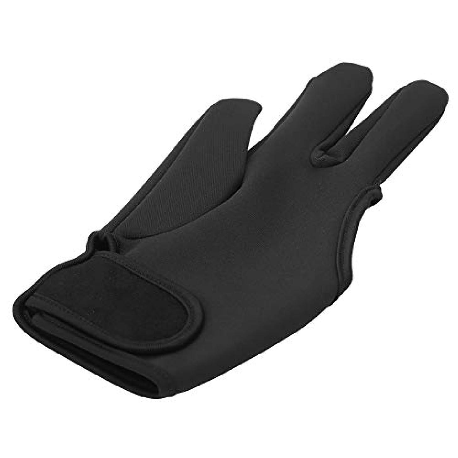手綱夕方に同意する理髪手袋、理髪を行うときに手をやけどするのを防ぐためのプロの耐熱プルーフグローブ、美容院に最適