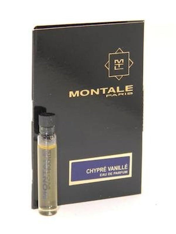 賠償何価値Montale Chypre Vanille EDP Vial Sample 2ml(モンタル シプレ ヴァニーユ オードパルファン 2ml)[海外直送品] [並行輸入品]