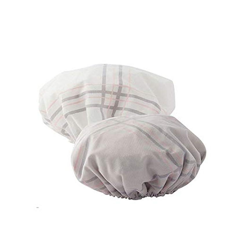 マウスピースアリスもろいJJESC シャワーキャップ、女性のすべての髪の長さと厚さに適しレディースシャワーキャップデラックスシャワーキャップ - 防水やカビ耐性、再利用可能なシャワー。 (Color : 5)