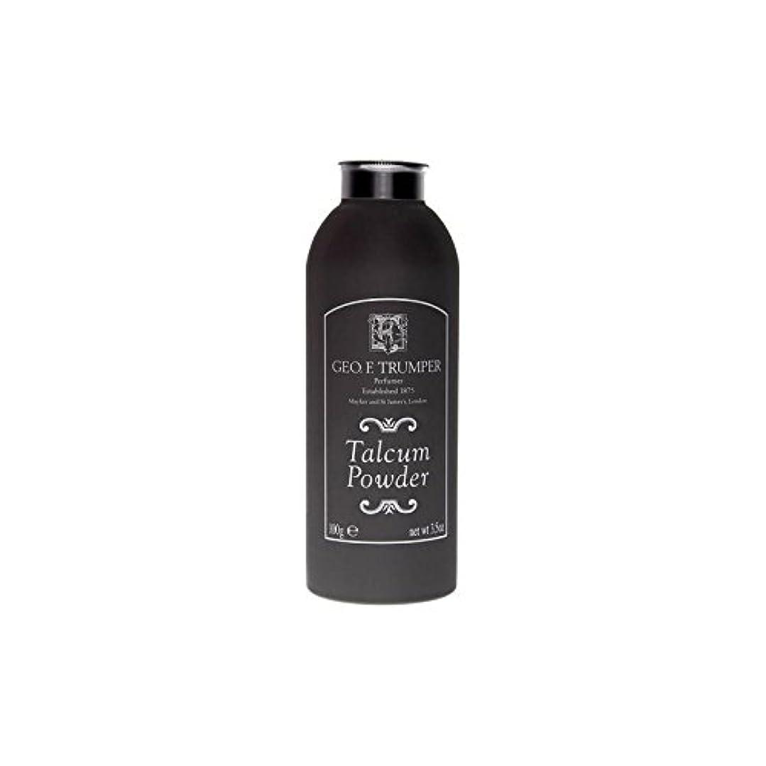 透ける花に水をやる競争のタルカムパウダー - 100グラム x4 - Trumpers Talcum Powder - 100g (Pack of 4) [並行輸入品]