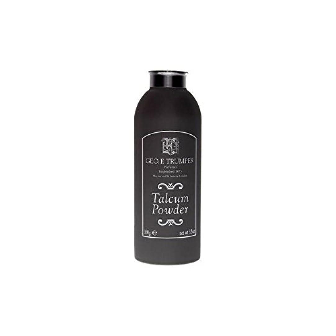 農業無礼に納税者Trumpers Talcum Powder - 100g (Pack of 6) - のタルカムパウダー - 100グラム x6 [並行輸入品]