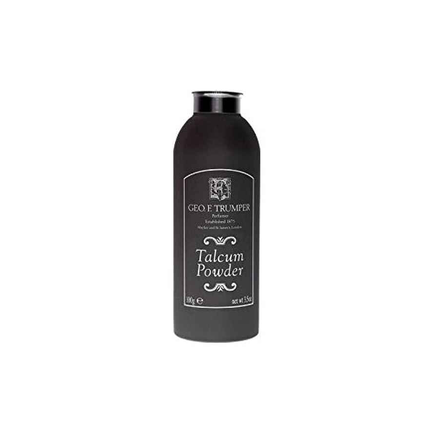 効果的無黒のタルカムパウダー - 100グラム x4 - Trumpers Talcum Powder - 100g (Pack of 4) [並行輸入品]