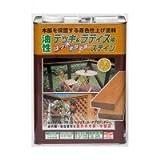 ニッペ ホームペイント ガーデニング木部用塗料 油性デッキ&ラティス 3.2L 01・メープル 02・けやき