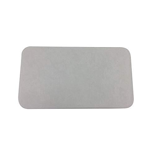 フジワラ化学 浴室足ふきマット グレー 43×24×0.9cm NEW足乾バスマット ミニミニ