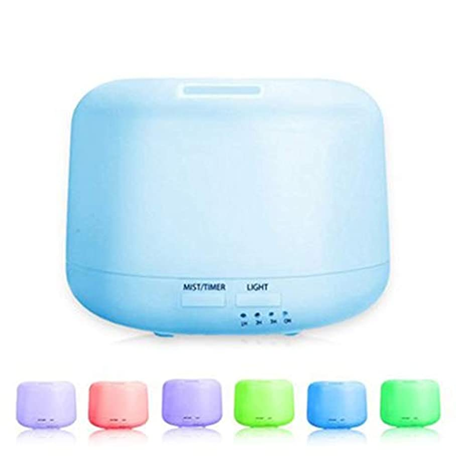 物理的に落ち着くコメンテーター300ml拡散器の涼しい霧の加湿器の4つのタイマーおよび7つのLED色の変更ライトが付いている水なしの自動遮断 (Color : Colorful)