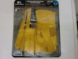 Wellslamont ウェルズラモント ワークグローブ 3組 M 作業用皮手袋