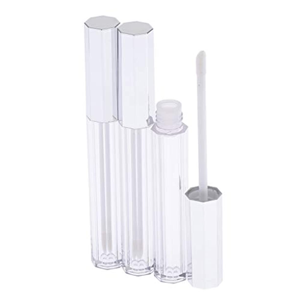 有効化引き渡す雷雨SM SunniMix リップグロス 容器 チューブ クリア リップスティックチューブ プラスチック 5ml 3個セット