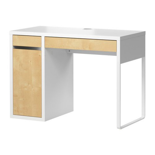 IKEA(イケア) MICKE ホワイト バーチ