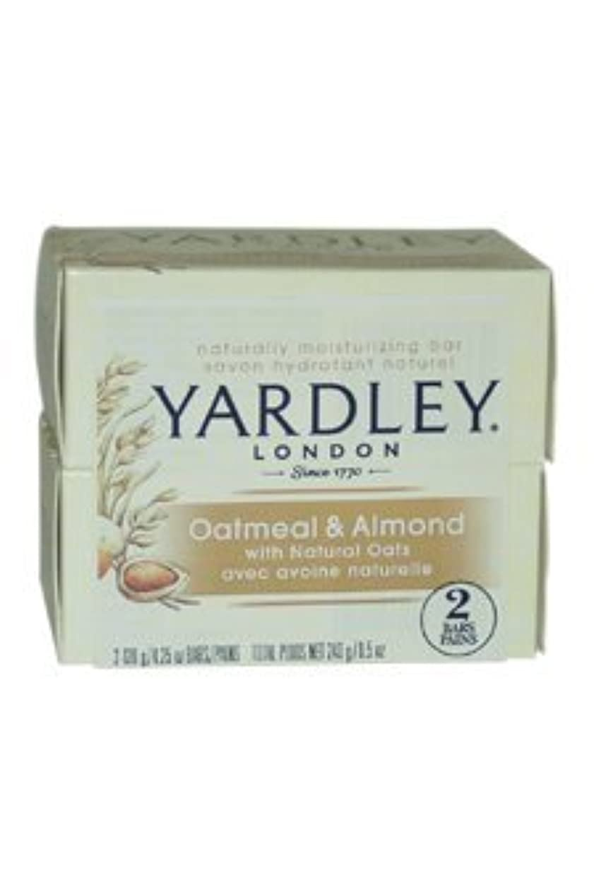枝ソーダ水常習的Oatmeal and Almond Bar Soap by Yardley - 2 x 4.25 oz Soap by Yardley [並行輸入品]