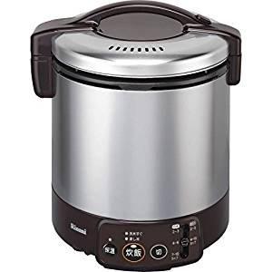 リンナイ こがまる ジャー付きガス炊飯器 10合炊き・ダークブラウン・プロパンガスLPG用 RR-100VM(DB) LP