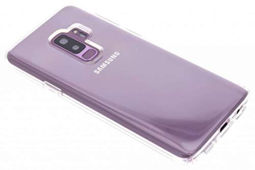 【Spigen】 スマホケース Galaxy S9 Plus ケース [ SC-03K SCV39 ] 対応 TPU 全面クリア 超薄型 超軽量 リキッド・クリスタル 593CS22913 (クリスタル ・クリア)