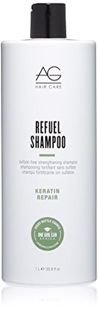 住居グレード義務的AG Hair Refuel Sulfate Free Strengthening Shampoo, 33.80 Ounce by AG Hair Cosmetics