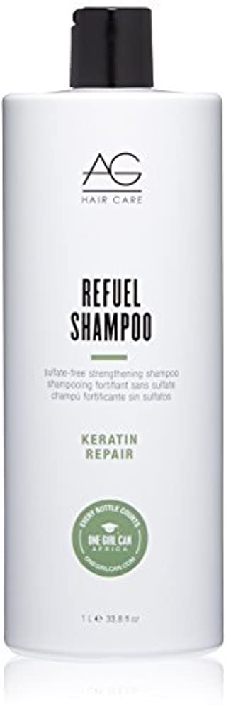 無許可解明無駄AG Hair Refuel Sulfate Free Strengthening Shampoo, 33.80 Ounce by AG Hair Cosmetics