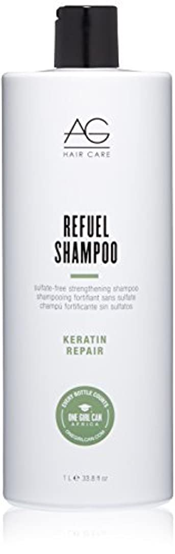 巨大な代表して責任者AG Hair Refuel Sulfate Free Strengthening Shampoo, 33.80 Ounce by AG Hair Cosmetics