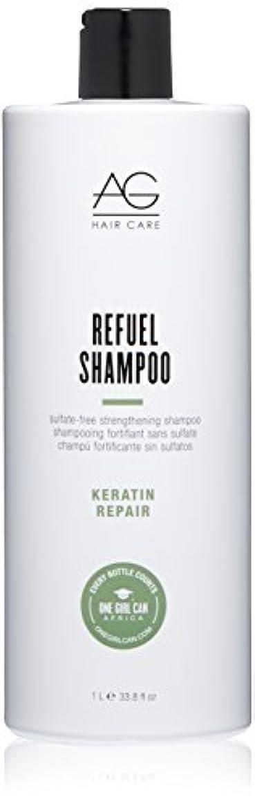 お祝い案件土AG Hair Refuel Sulfate Free Strengthening Shampoo, 33.80 Ounce by AG Hair Cosmetics