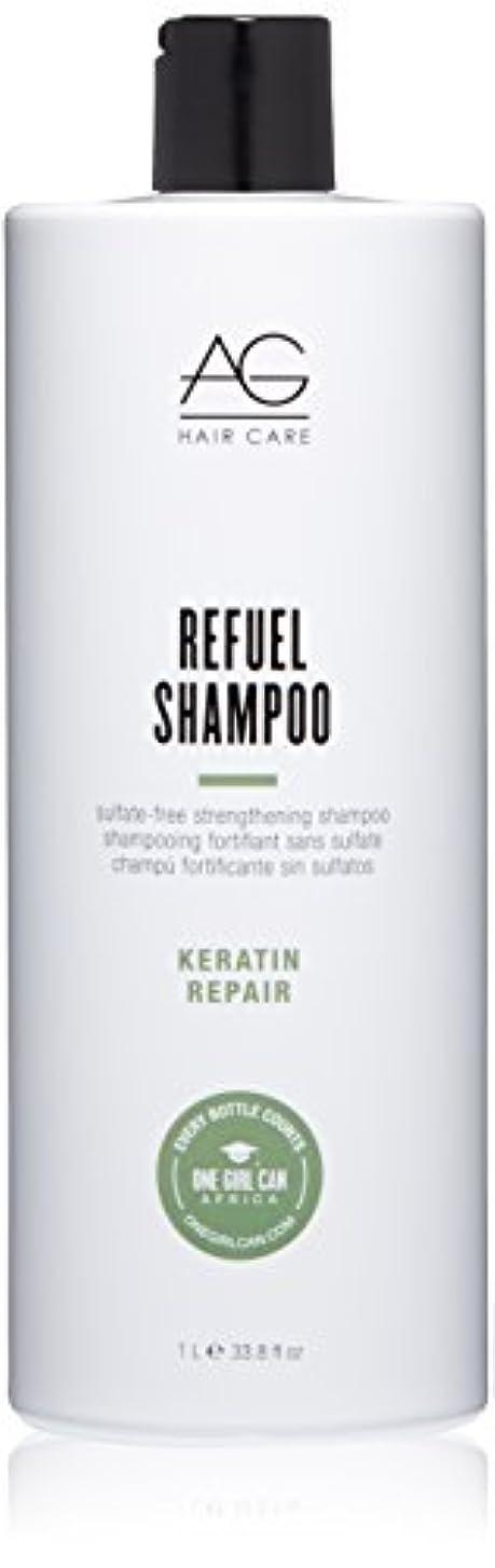 同意アナニバー野なAG Hair Refuel Sulfate Free Strengthening Shampoo, 33.80 Ounce by AG Hair Cosmetics