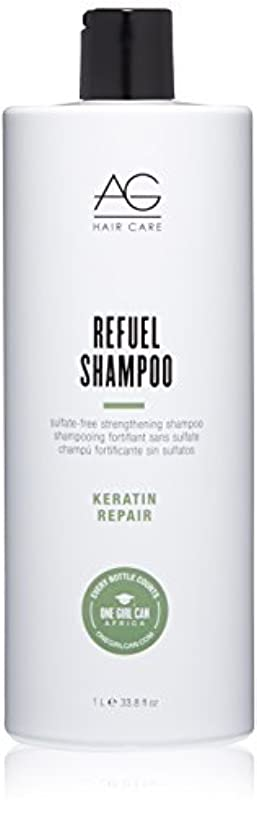 禁輸お客様名誉あるAG Hair Refuel Sulfate Free Strengthening Shampoo, 33.80 Ounce by AG Hair Cosmetics