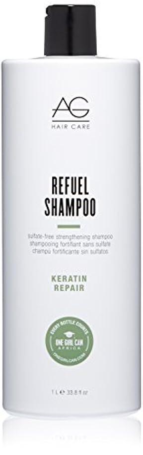 の間に電話する実施するAG Hair Refuel Sulfate Free Strengthening Shampoo, 33.80 Ounce by AG Hair Cosmetics