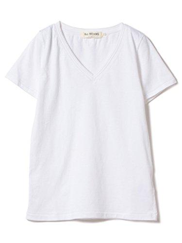 (レイビームス) Ray BEAMS/Tシャツ コットン 天竺 Vネック Tシャツ レディス ホワイト 1
