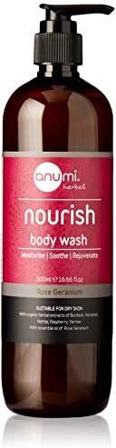 Anumi Skincare Nourish Body Wash 500 ml, 500 milliliters
