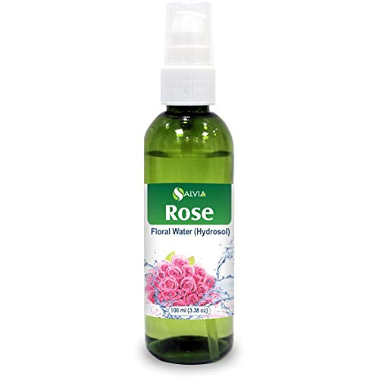おじさんユーモラス改修Rose Floral Water 100ml (Hydrosol) 100% Pure And Natural