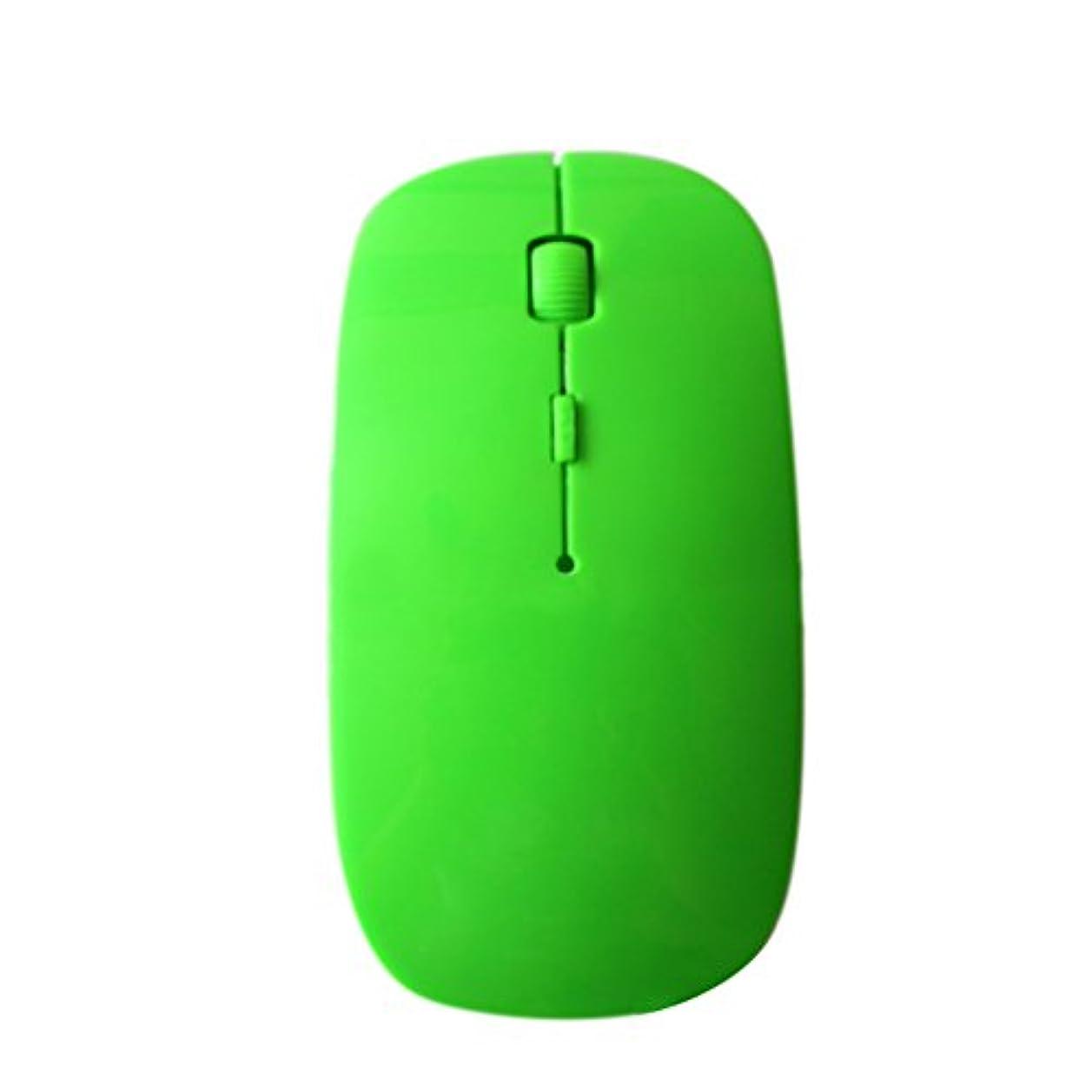 テロ式名前を作るYimoer マウス ゲーミング 日常 オフィス 新しい2.4GHzの超薄型ワイヤレス光学式マウス1200DPI USB PCのラップトップコンピュータのゲーミングマウスギフト