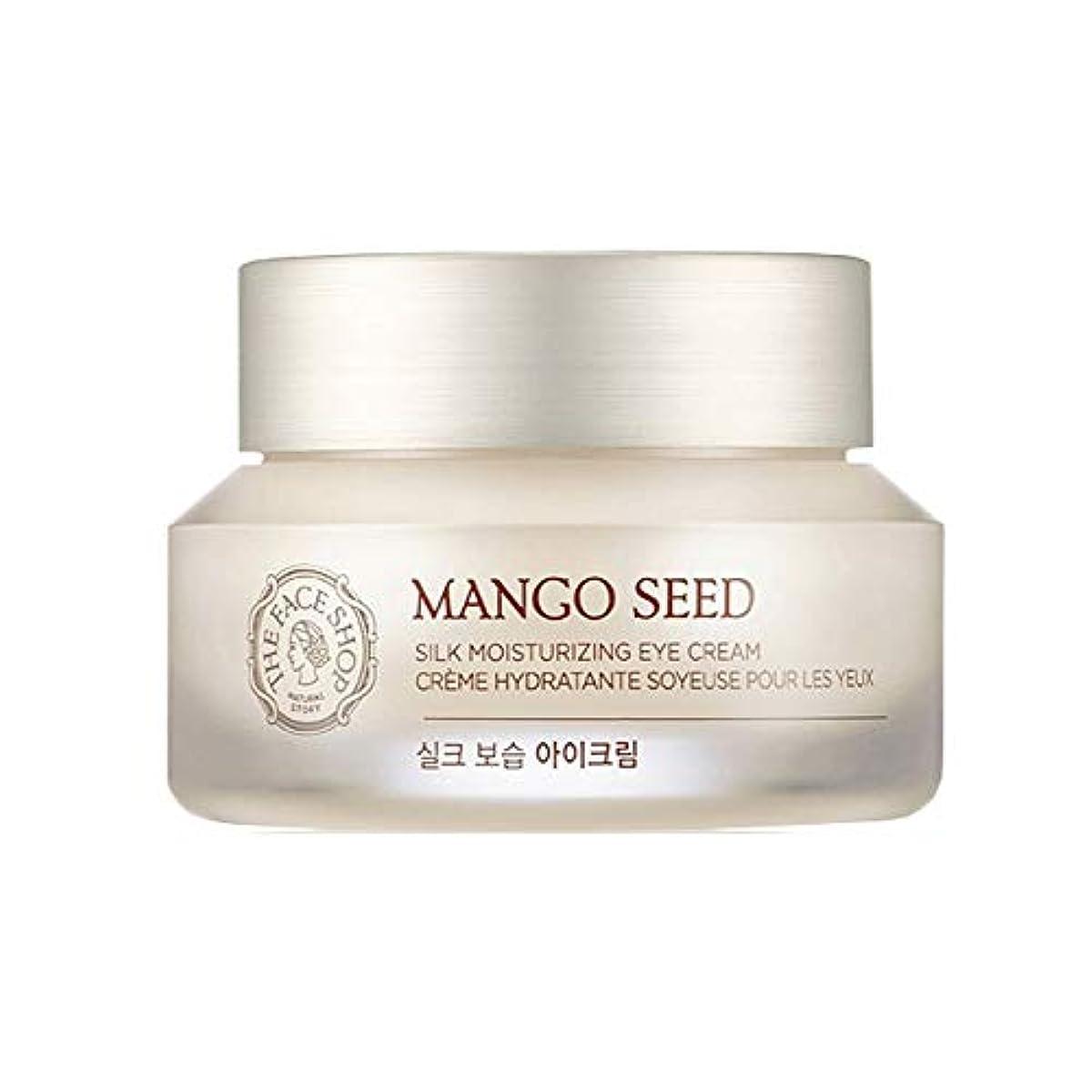 なすやりすぎシンポジウムザ?フェイスショップマンゴーシードシルク保湿アイクリーム30ml韓国コスメ、The Face Shop Mango Seed Silk Moisturizing Eye Cream 30ml Korean Cosmetics...