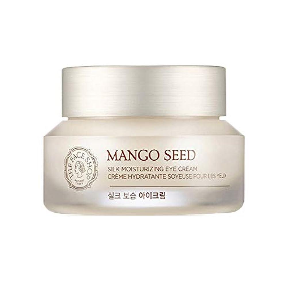 ポルノ歌ザ・フェイスショップマンゴーシードシルク保湿アイクリーム30ml韓国コスメ、The Face Shop Mango Seed Silk Moisturizing Eye Cream 30ml Korean Cosmetics [並行輸入品]