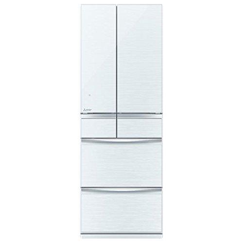 三菱 503L 6ドア冷蔵庫(クリスタルホワイト)MITSUBISHI 置けるスマート大容量 MXシリーズ MR-MX50D-W