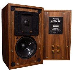 スターリング・ブロードキャスト 2ウェイ密閉型ベーシック ウォールナット色【ペア】Stirling Broadcast BBC Monitor LS3/5A-V2/WN(ペア)(スタ