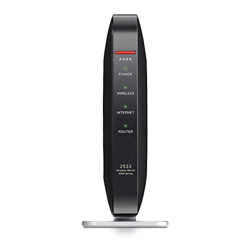 BUFFALO 無線LAN親機 11ac/n/a/g/b 1733+800Mbps Giga ブラック【 Nintendo Switch動作確認済】 WSR-2533DHP-CB